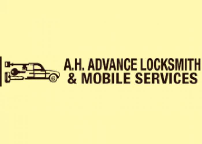 A H Advance Locksmith & Mobile Services logo