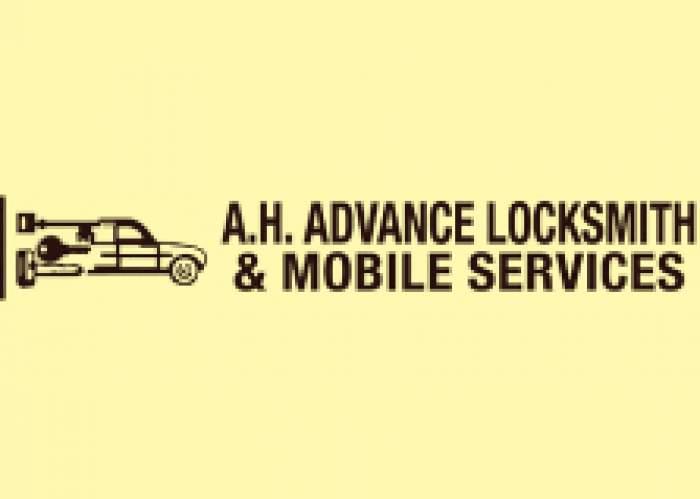 A H Advance Locksmith & Mobile Services logo