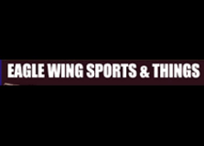 Eagle Wing Sports & Things logo