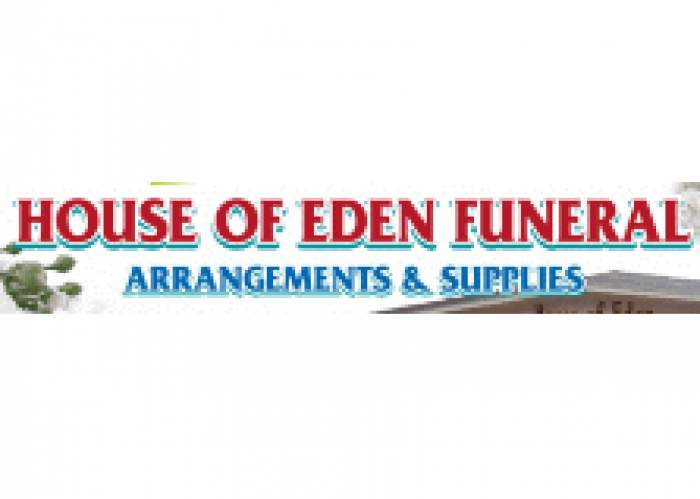 House of Eden Funeral Arrangements & Supplies logo