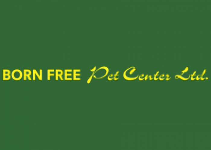 Born Free Pet Center logo
