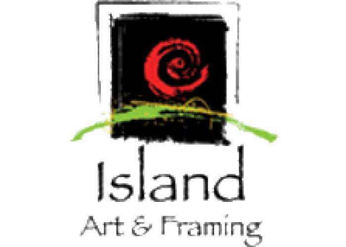 Island Art & Framing logo