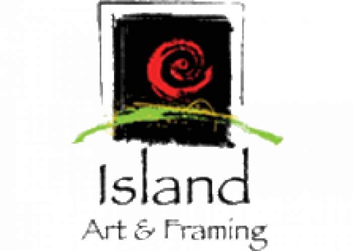 Island Art & Framing logo