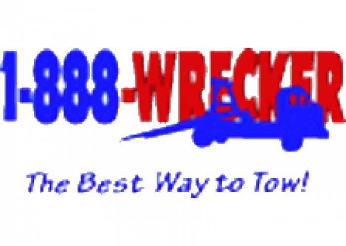 1-888-Wrecker logo