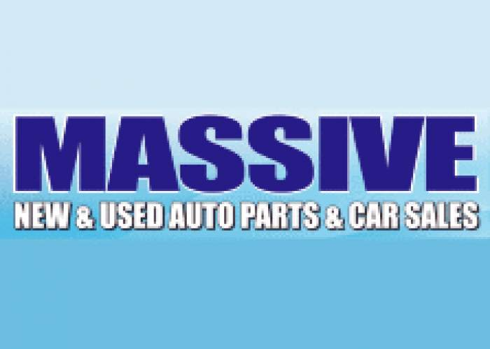 Massive Used Parts logo