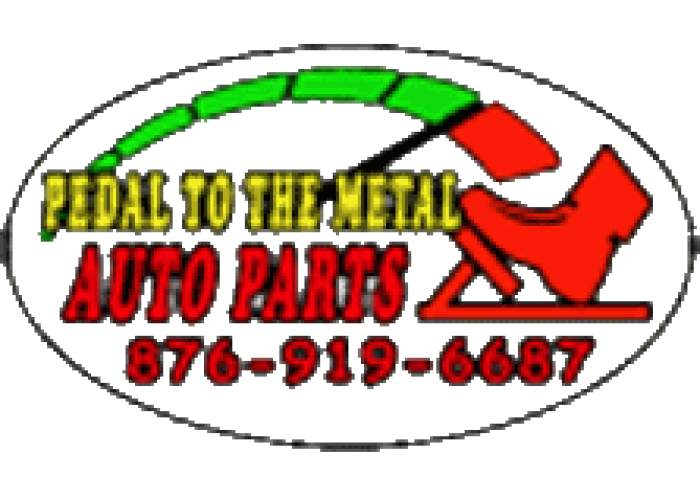 Pedal To The Metal Auto Parts logo