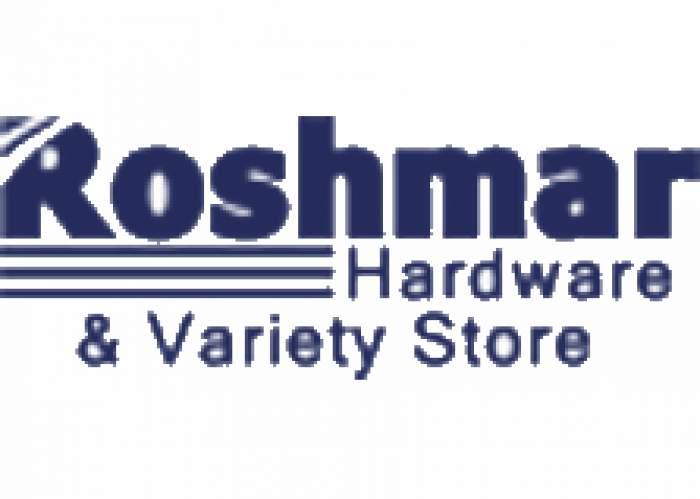 Roshmar Hardware & Variety Store logo