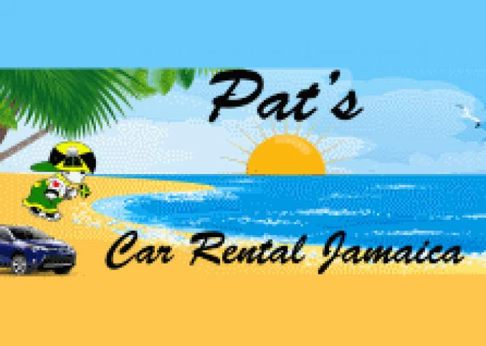 Pat's Car Rental logo
