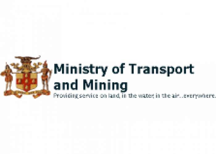 The Ministry of Transport & Mining logo