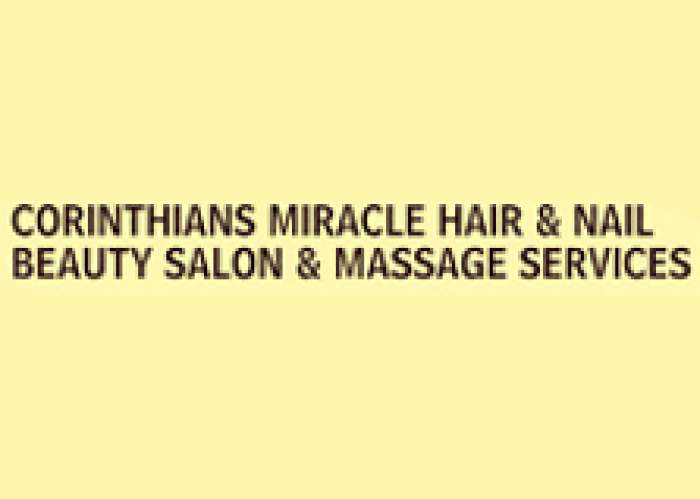 Corinthians Miracle Hair Nails Barber Beauty Salon & Massage Services logo