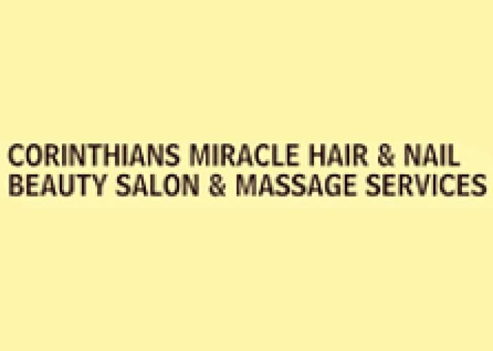 Corinthians Miracle Hair Nails Barber Beauty Salon & Massage Services logo