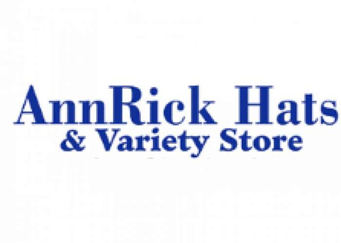 AnnRick Hats & Variety Store logo
