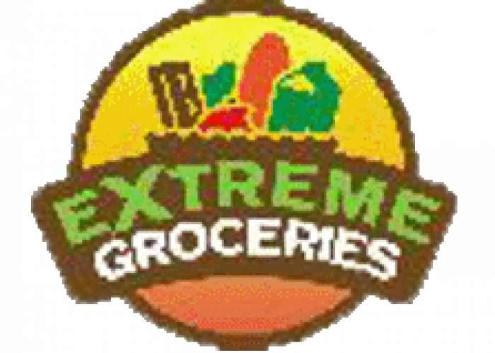 Extreme Groceries logo