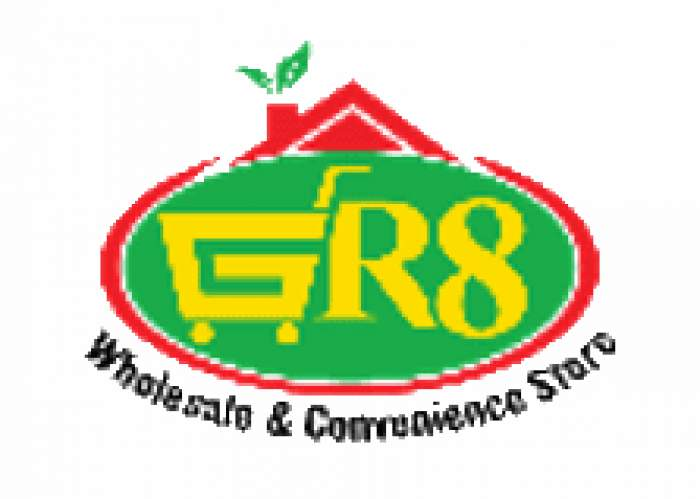 GR8 Wholesale & Convenience Store logo