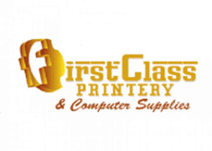 First Class Printery & Computer Supplies logo