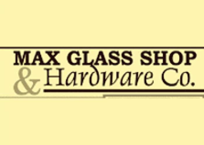 Max Glass Shop & Hardware Company logo