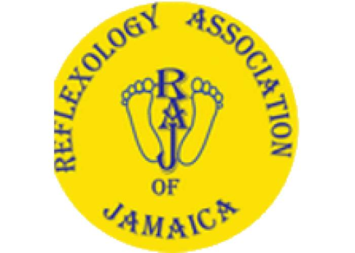 Reflexology Association of Jamaica (RAJ) logo