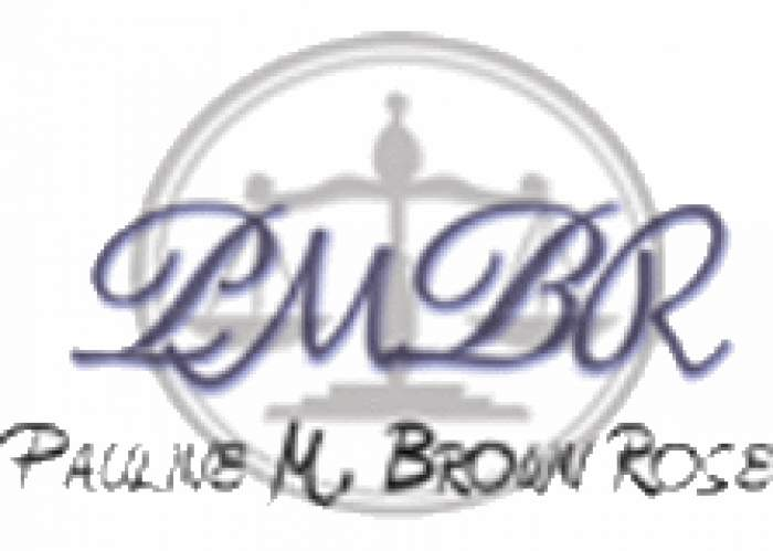 Pauline M. Brown Rose logo