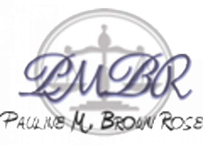 Pauline M. Brown Rose logo