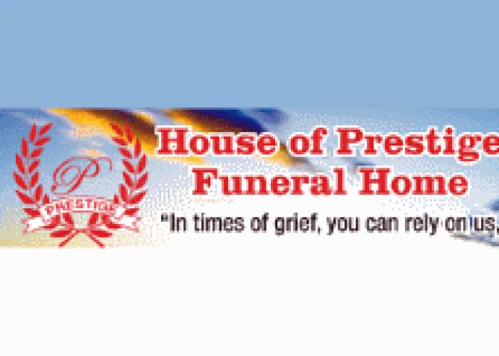 House Of Prestige Funeral Home logo