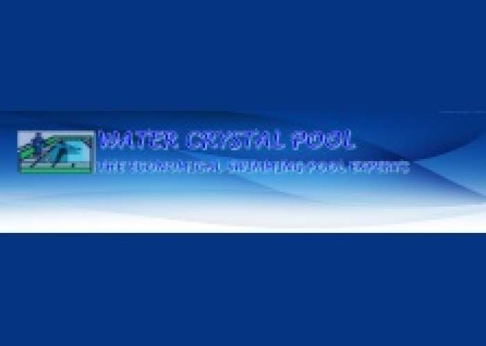 Water Crystal Pool logo