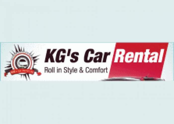 KG's Car Rental logo