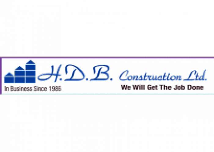 H D B Construction Limited logo
