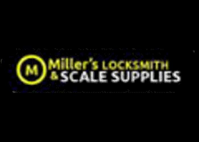 Miller's Locksmith & Scale Supplies logo
