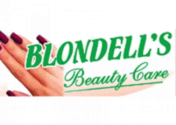 Blondell's Beauty Care logo