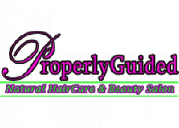 Properly Guided Natural HairCare & Beauty Salon logo