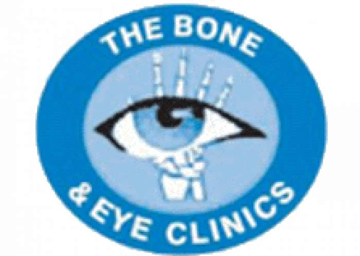 The Bone and Eye Clinic logo