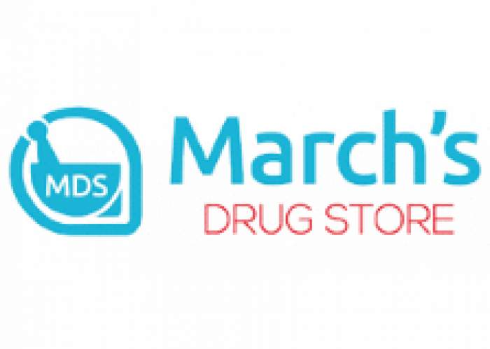 March's Drug Store logo