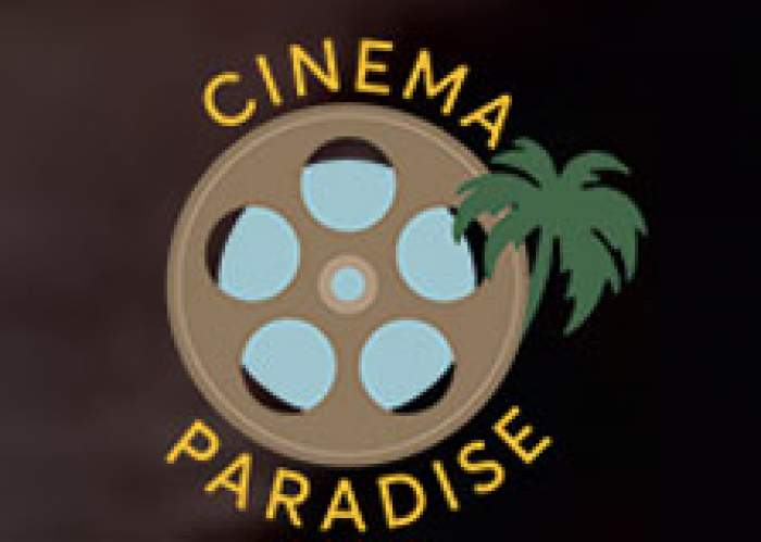 The 8th Annual Cinema Paradise - Portie Film Festival logo