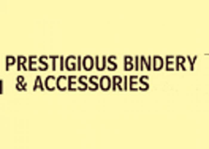 Prestigious Bindery & Accessories logo