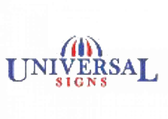 Universal Signs & Awnings logo