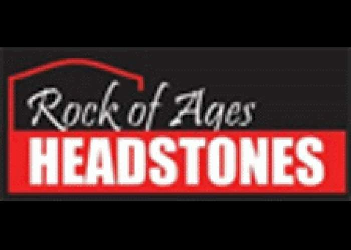 Rock of Ages Headstones logo
