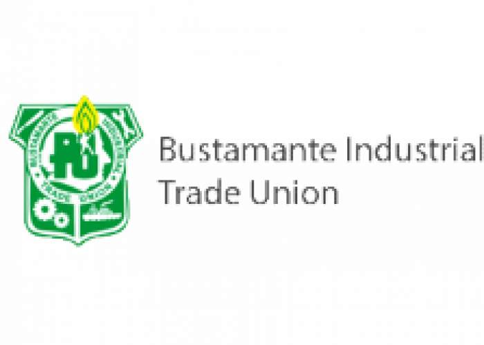 The Bustamante Industrial Trade Union logo