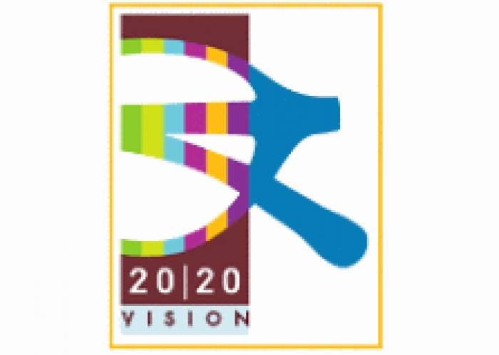 Twenty/Twenty (20-20) Vision logo