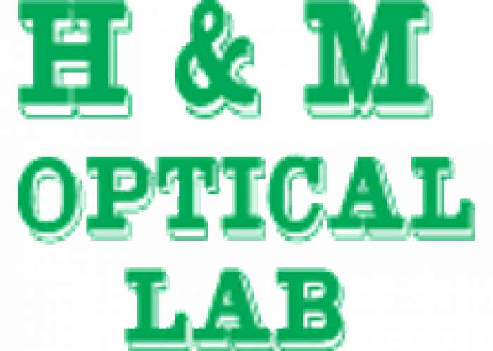 H & M Optical Lab logo