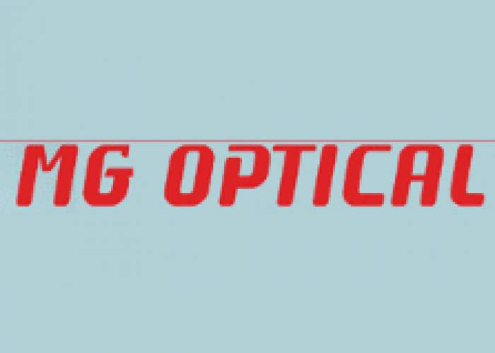 M G Optical logo