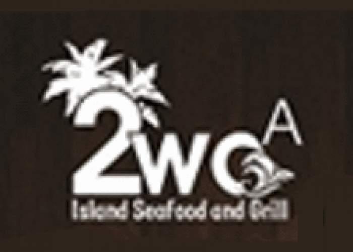 2WO A Island Seafood & Grill logo