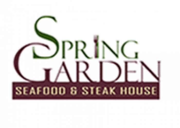 Spring Garden Seafood and Steakhouse logo