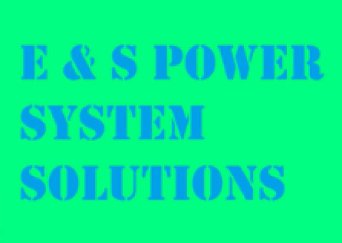 E and S Power System Solutions logo