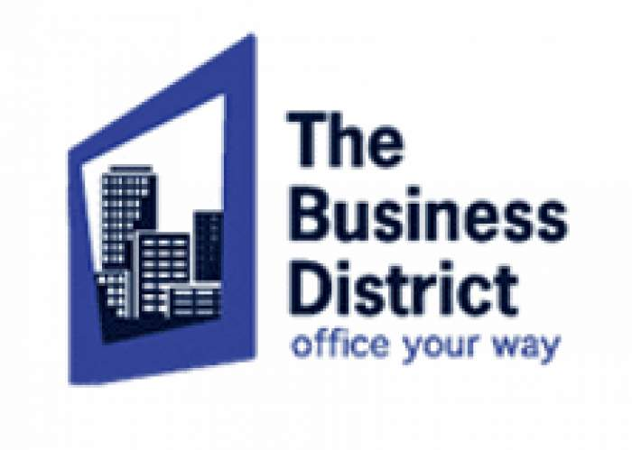 The Business District logo