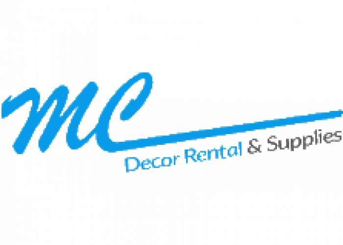 M C Decor Rental & Supplies logo