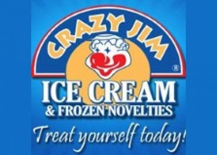 Crazy Jim Ice Cream logo