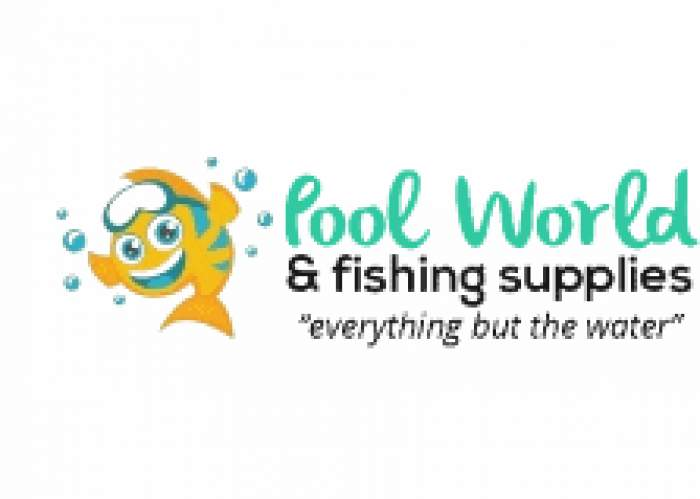 Poolworld & Fishing Supplies logo