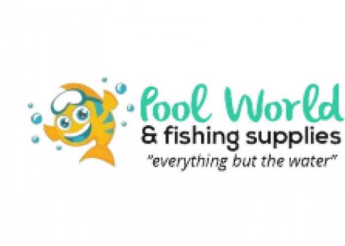 Poolworld & Fishing Supplies logo