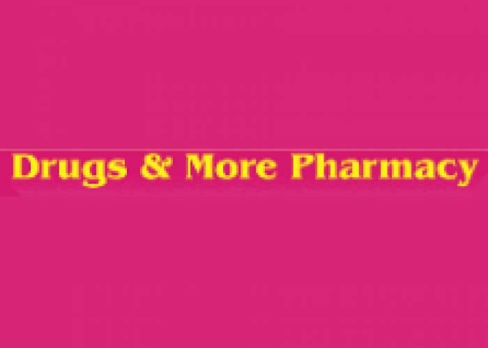 Drugs & More Pharmacy logo