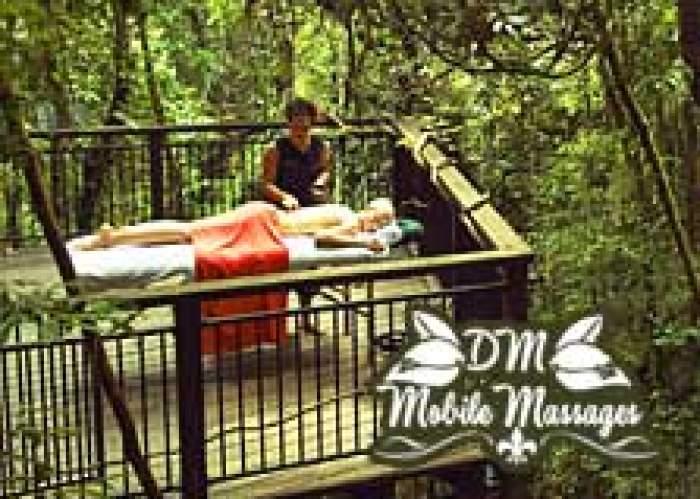 DM Mobile Massages logo